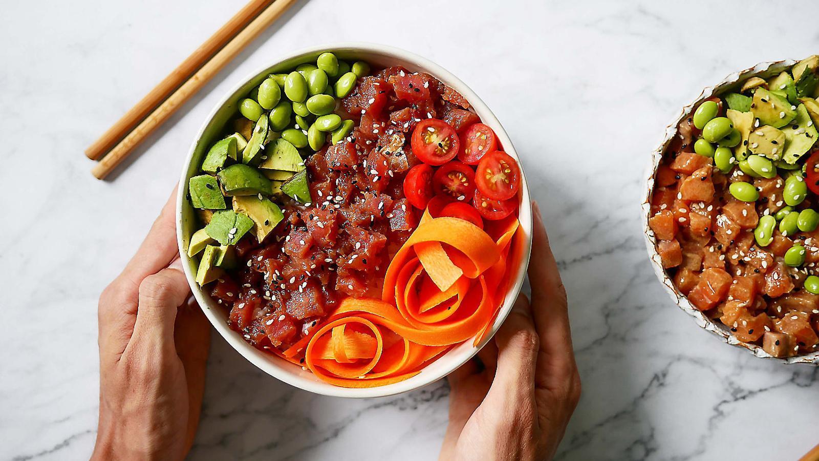 El 'poke bowl' que proposen des d'EatinBCN / EATINBCN