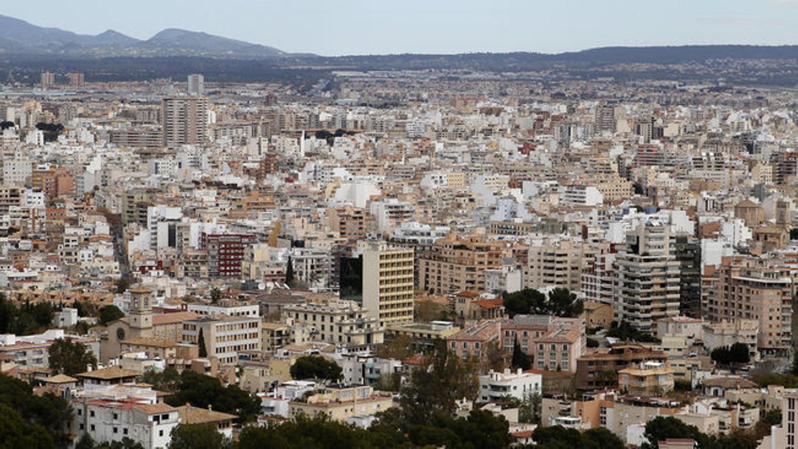 La ciutat de Palma.