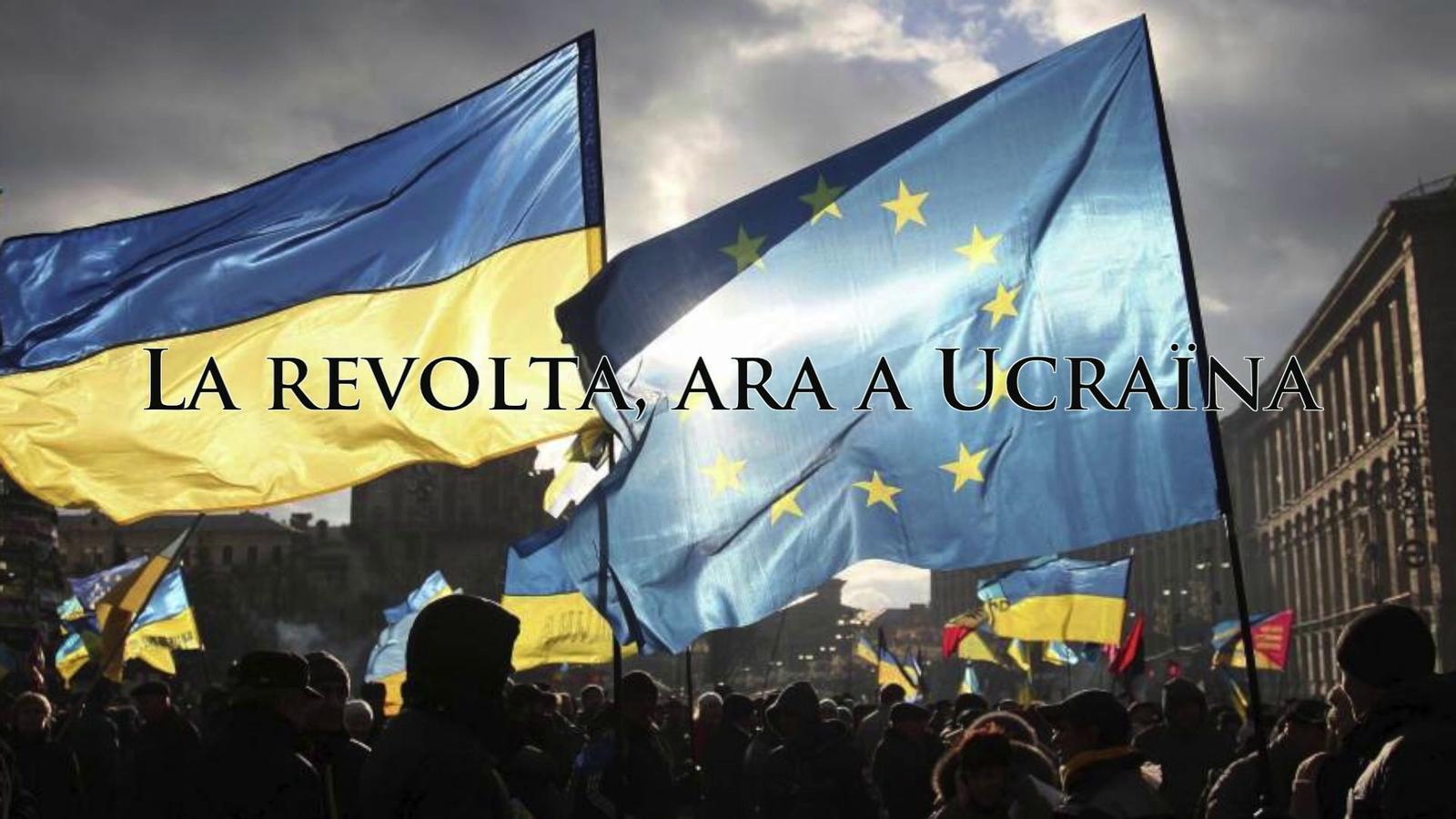La revolta en imatges, ara a Ucraïna