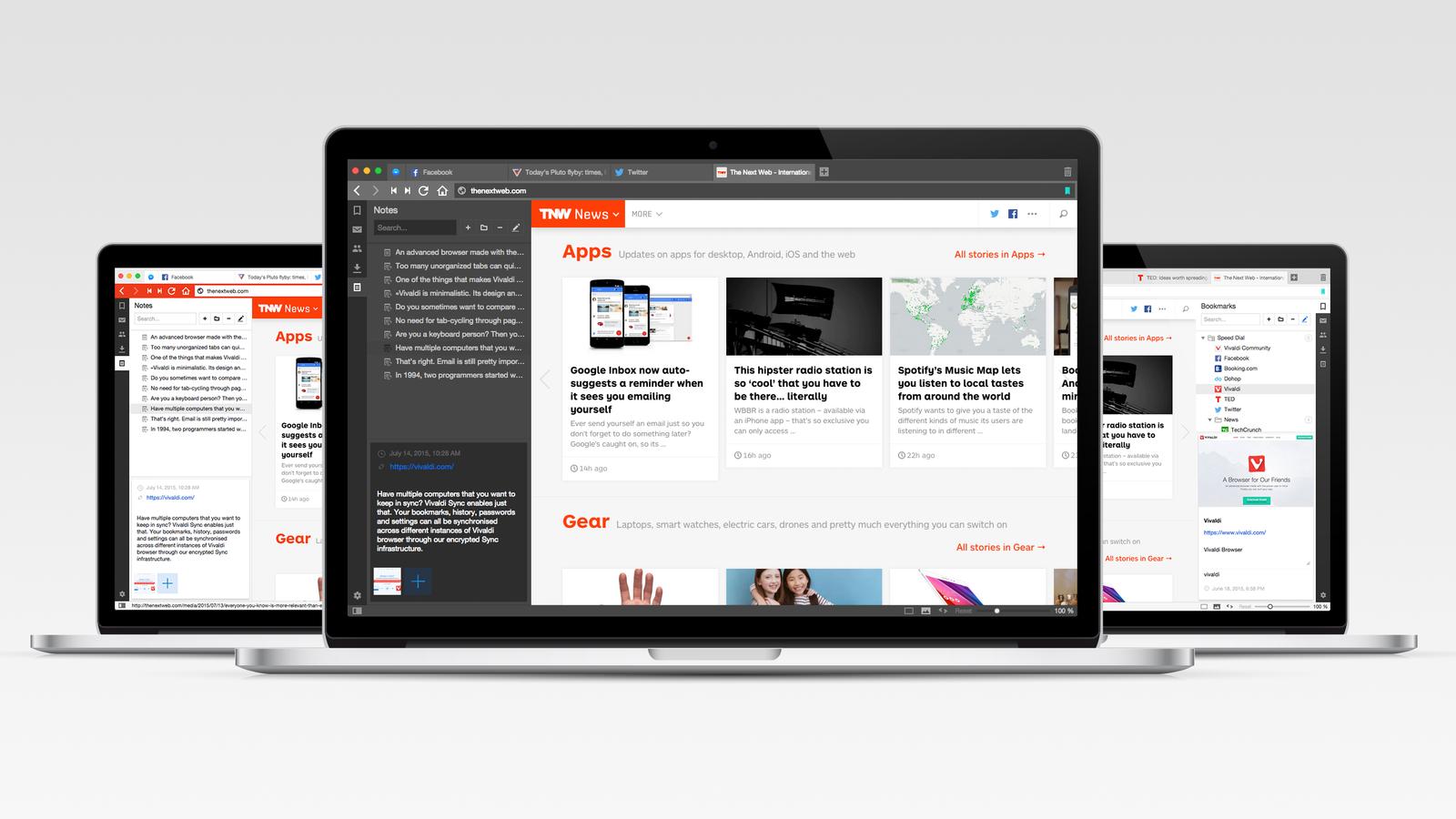 Imatge promocional del nou navegador. / VIVALDI