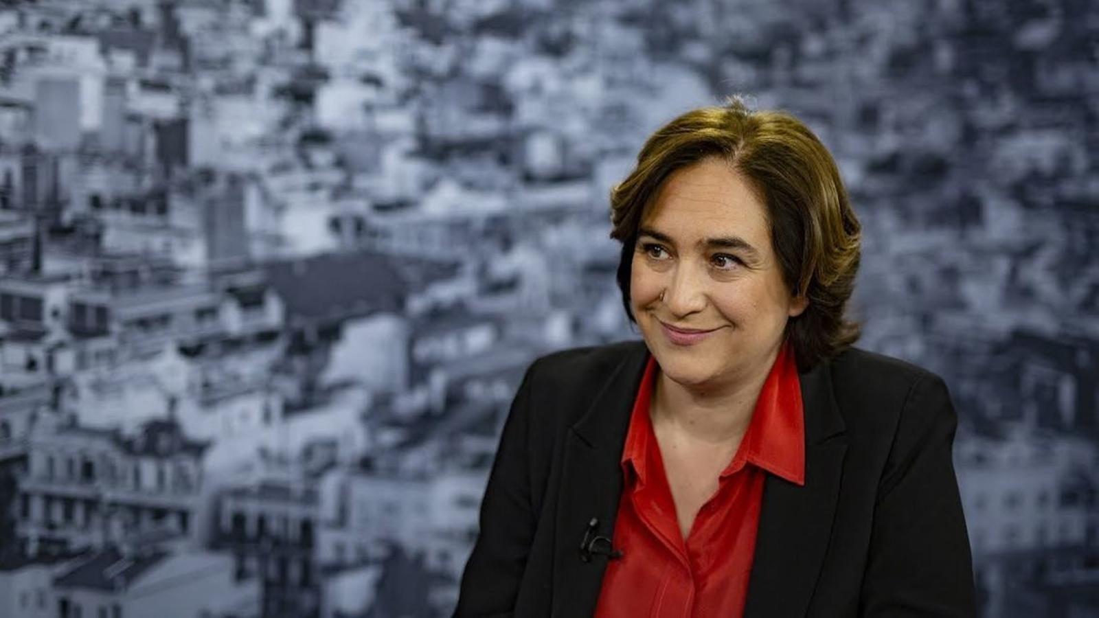 """Colau: """"Barcelona ha de ser un altaveu a Europa per denunciar un judici que és una venjança política"""""""