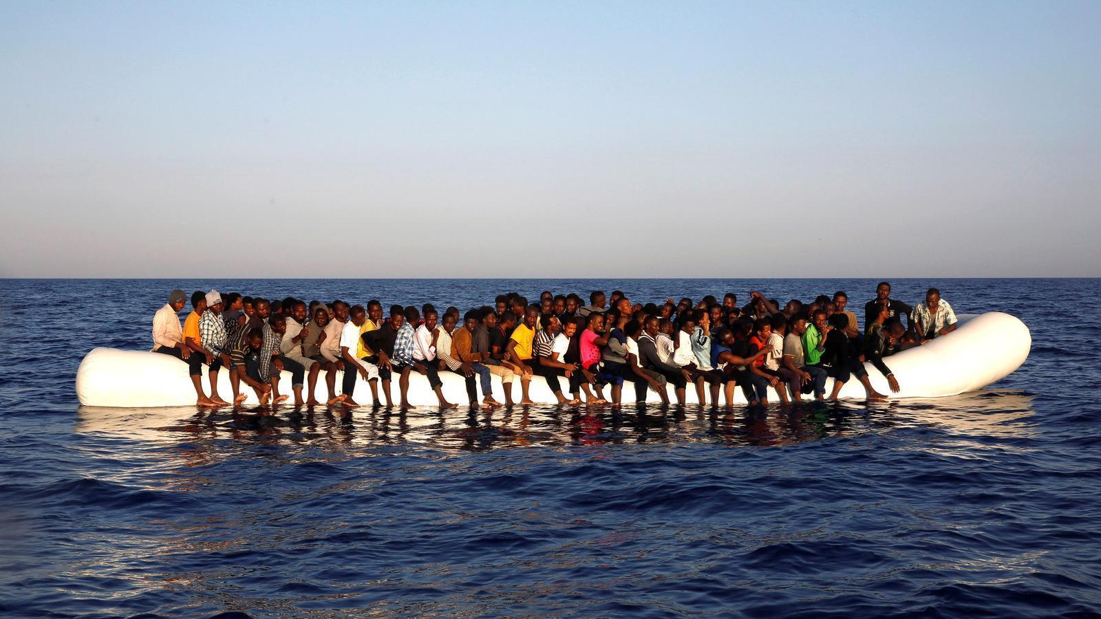 Més morts que mai al Mediterrani