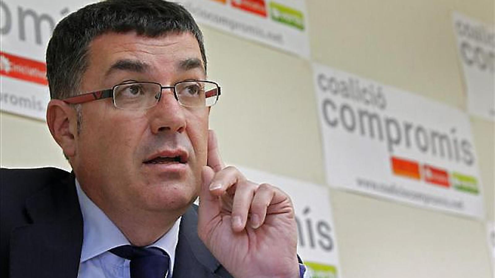 """El president de les Corts Valencianes critica """"l'acció repressiva i autoritària del govern de Rajoy"""""""