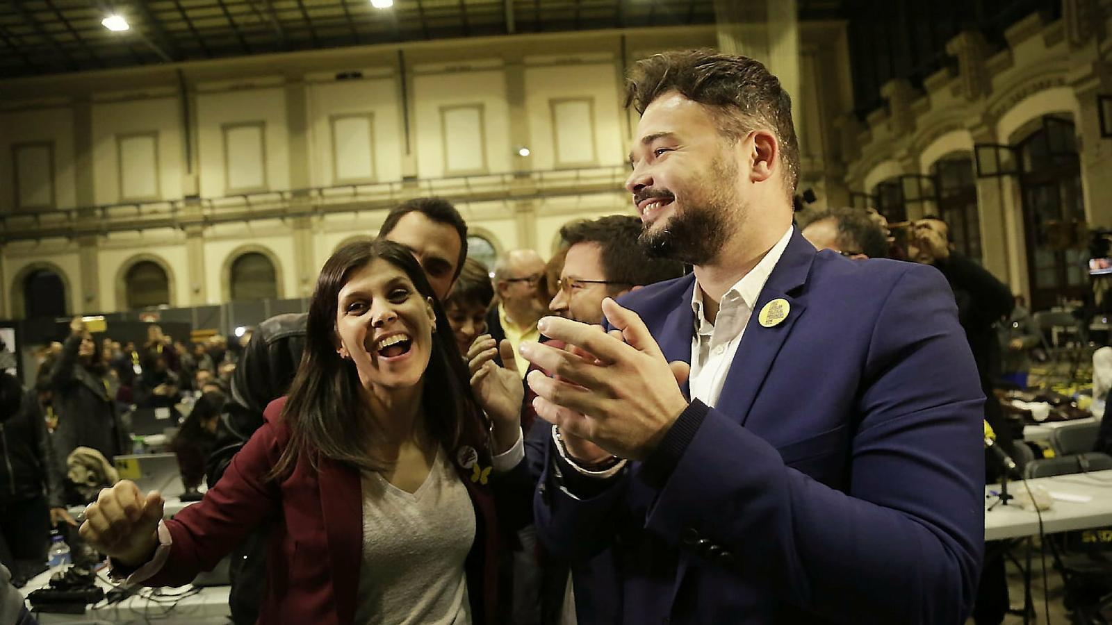 L'independentisme es torna a fer fort  a les urnes amb la irrupció de la CUP