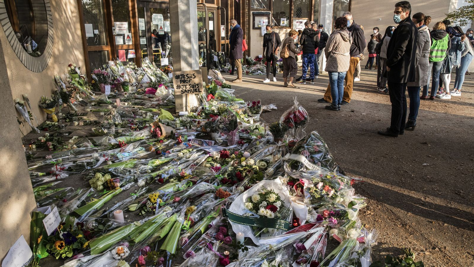 Condolencies assassinat professor Paris