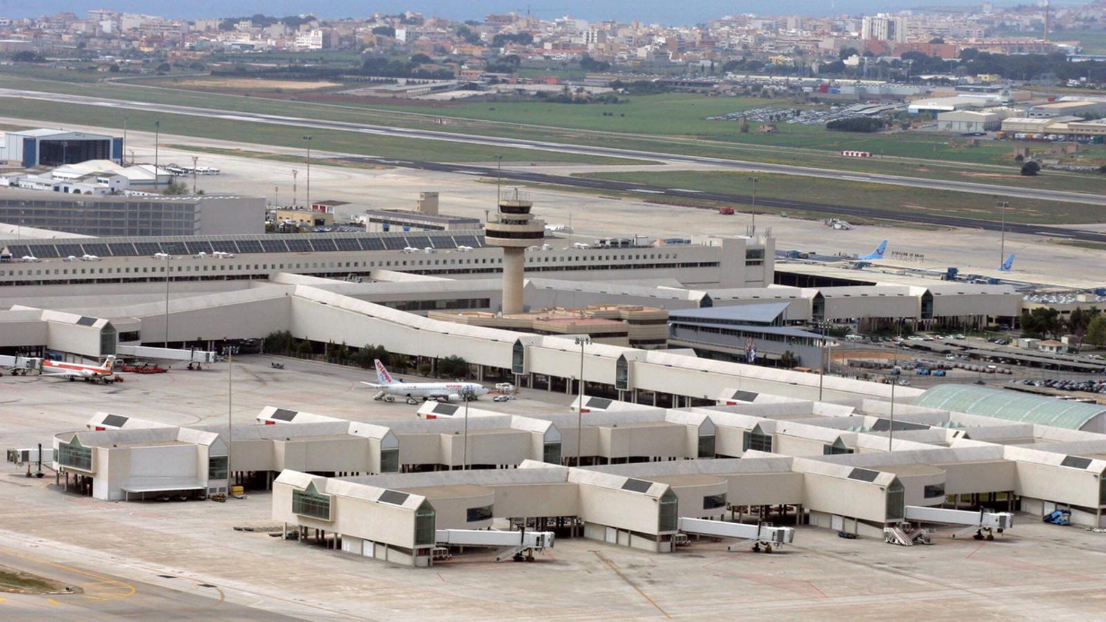 L'aeroport de Son Sant Joan ha superat els 23 milions de passatgers. / ARA BALEARS
