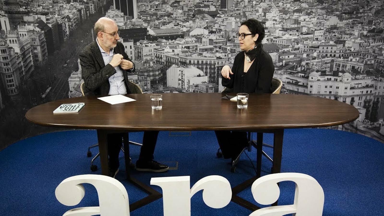 Entrevista d'Antoni Bassas a Marcia Tiburi