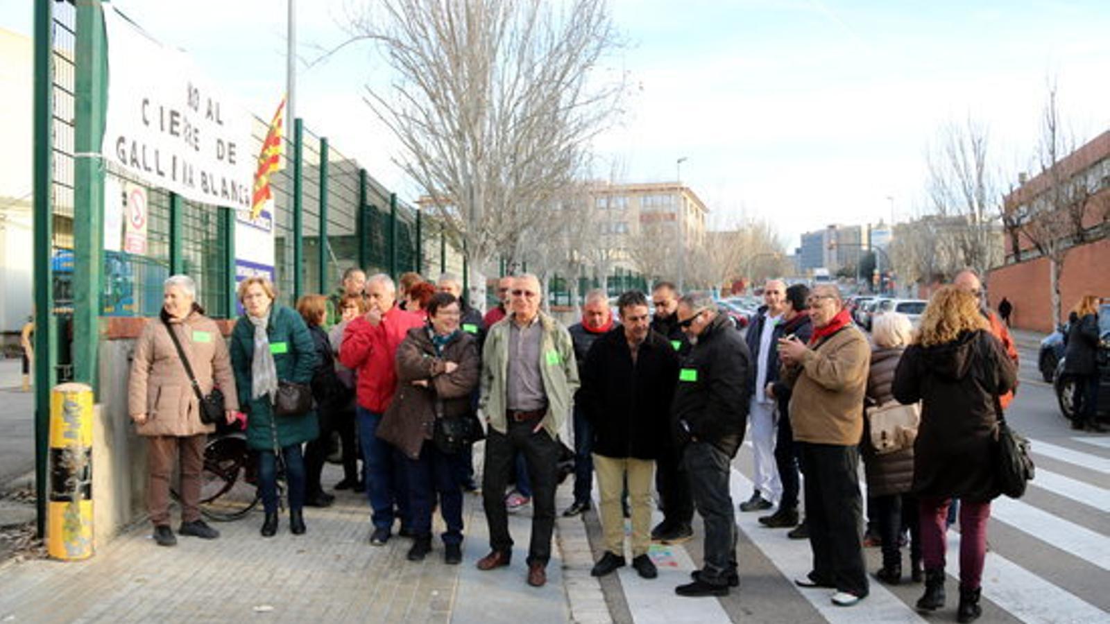 Els treballadors de Gallina Blanca faran vaga indefinida contra el tancament de la planta de Sant Joan Despí