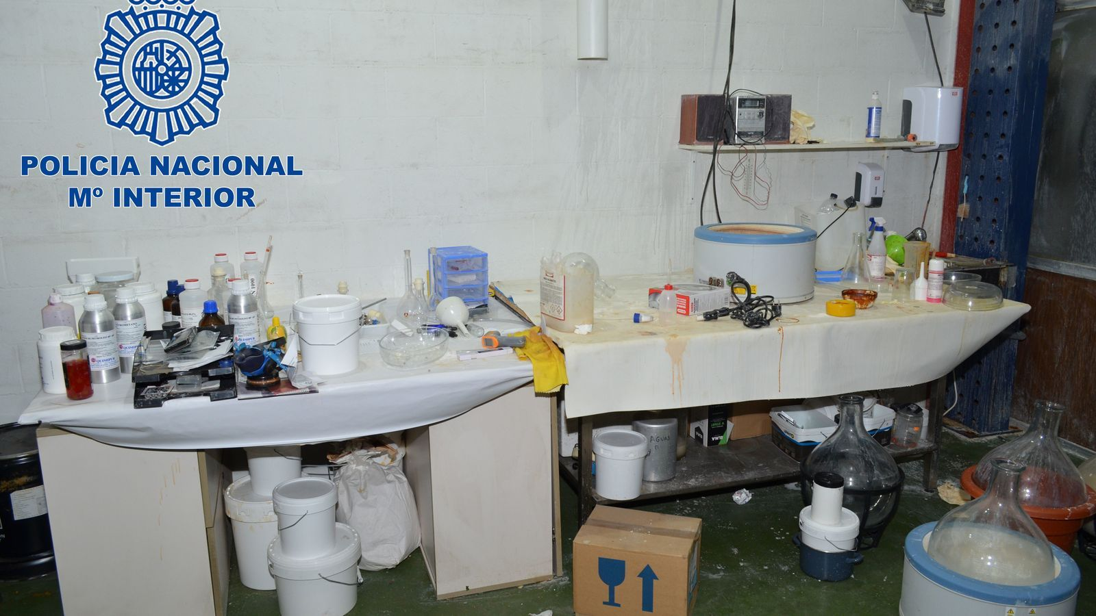 Desmantellats dos laboratoris d''speed' a Lleida i Osca