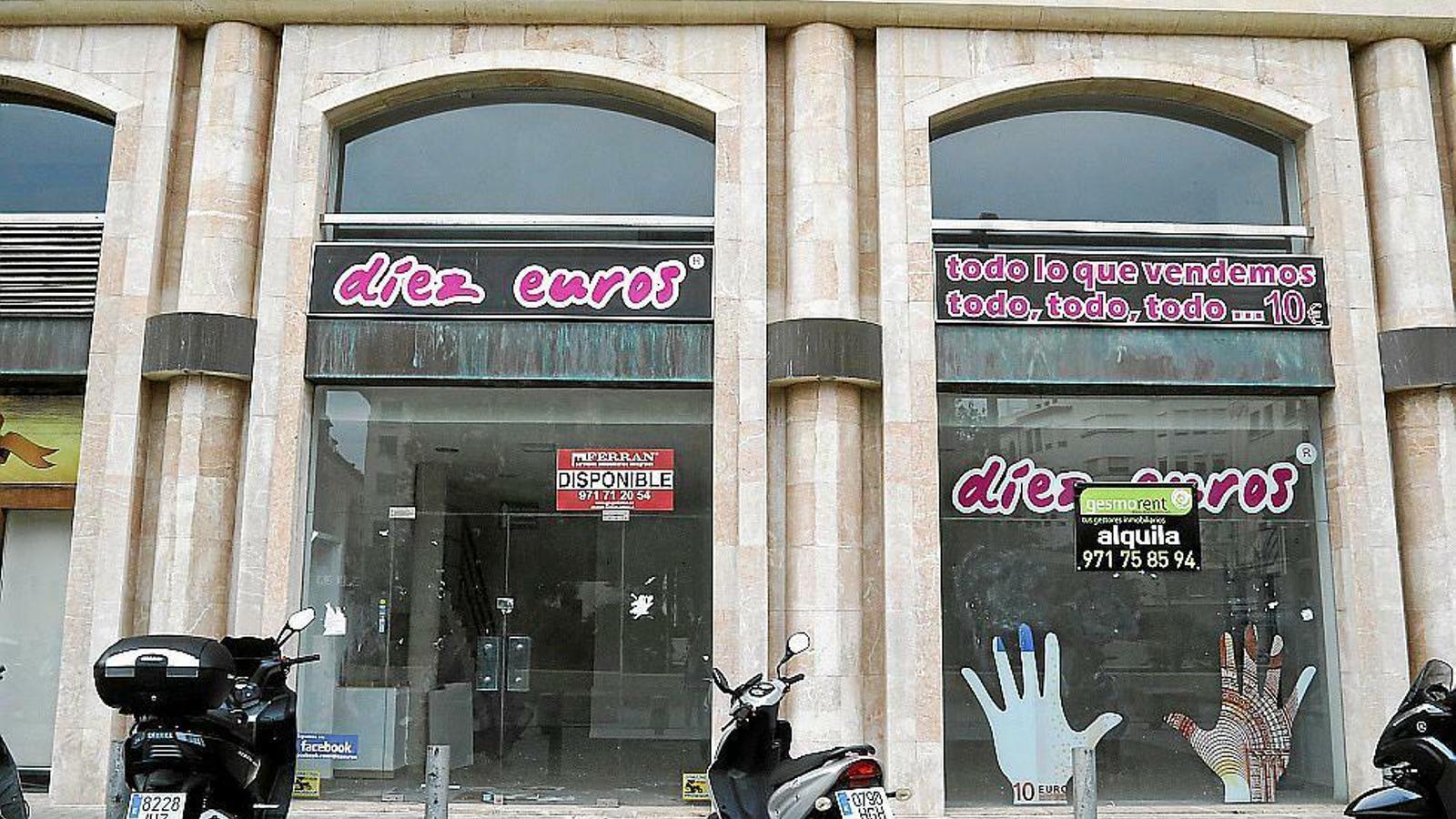 Els locals de Palma ofereixen una alta rendibilitat als propietaris que els lloguen