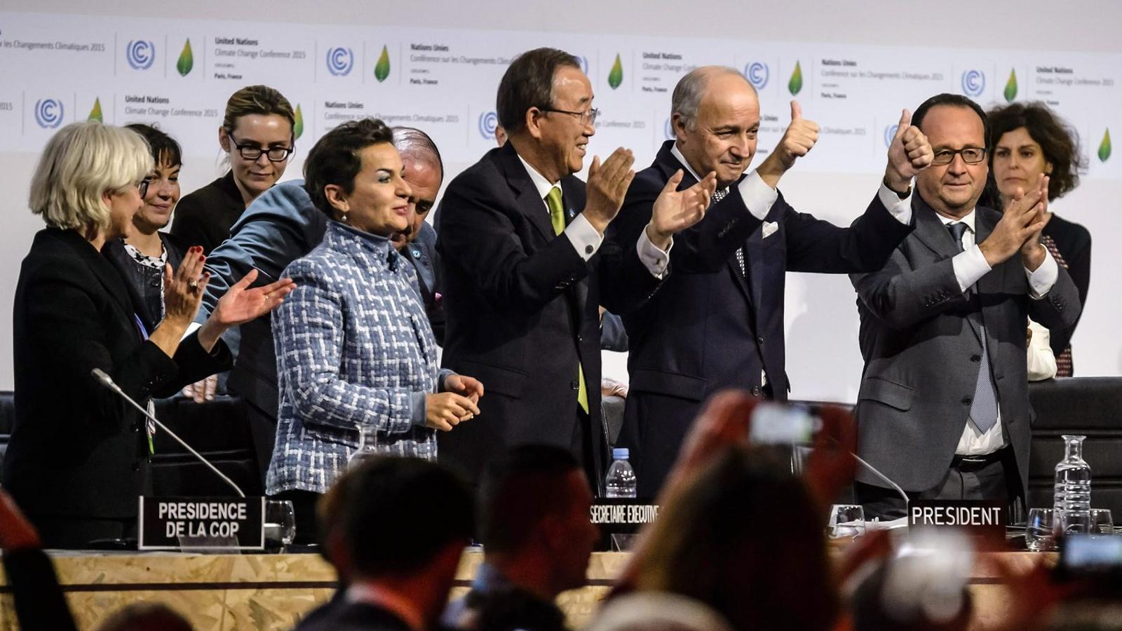 L'Acord de París conjura el món sencer a lluitar per salvar el planeta