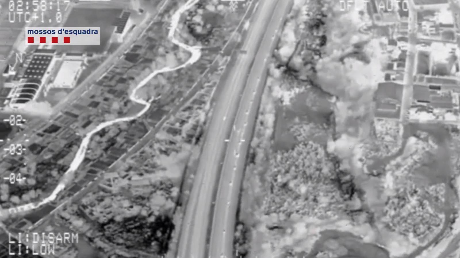 Vídeo de l'operació Titan 2 contra el tràfic de drogues