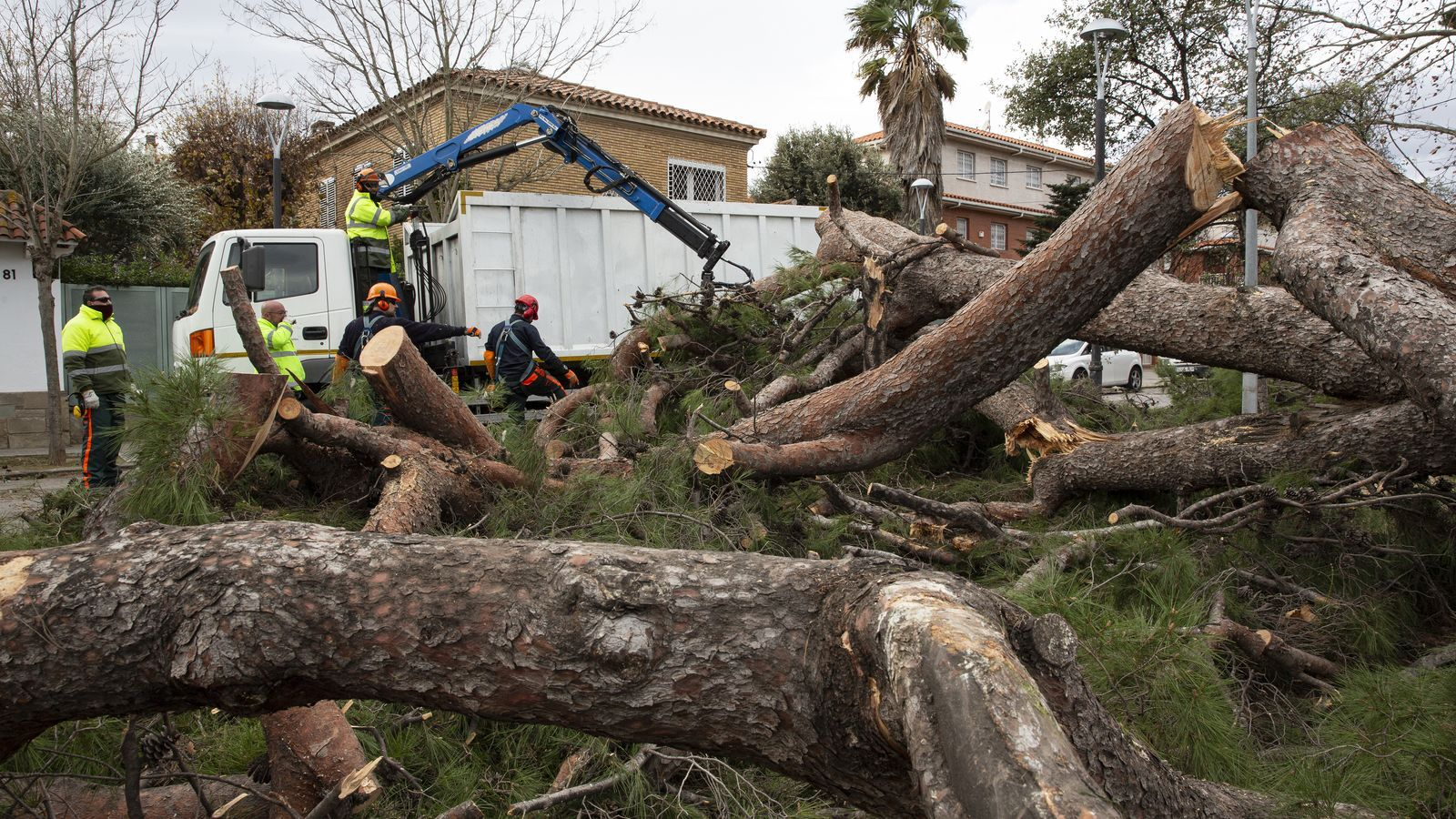Més de 60.000 alumnes es queden sense classe a causa del temporal