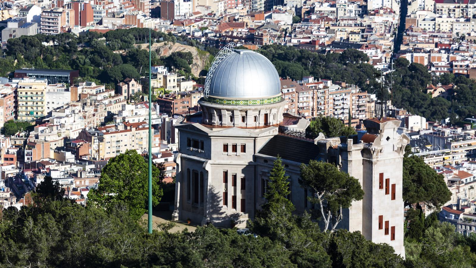 L'observatori Fabra i la ciutat als peus