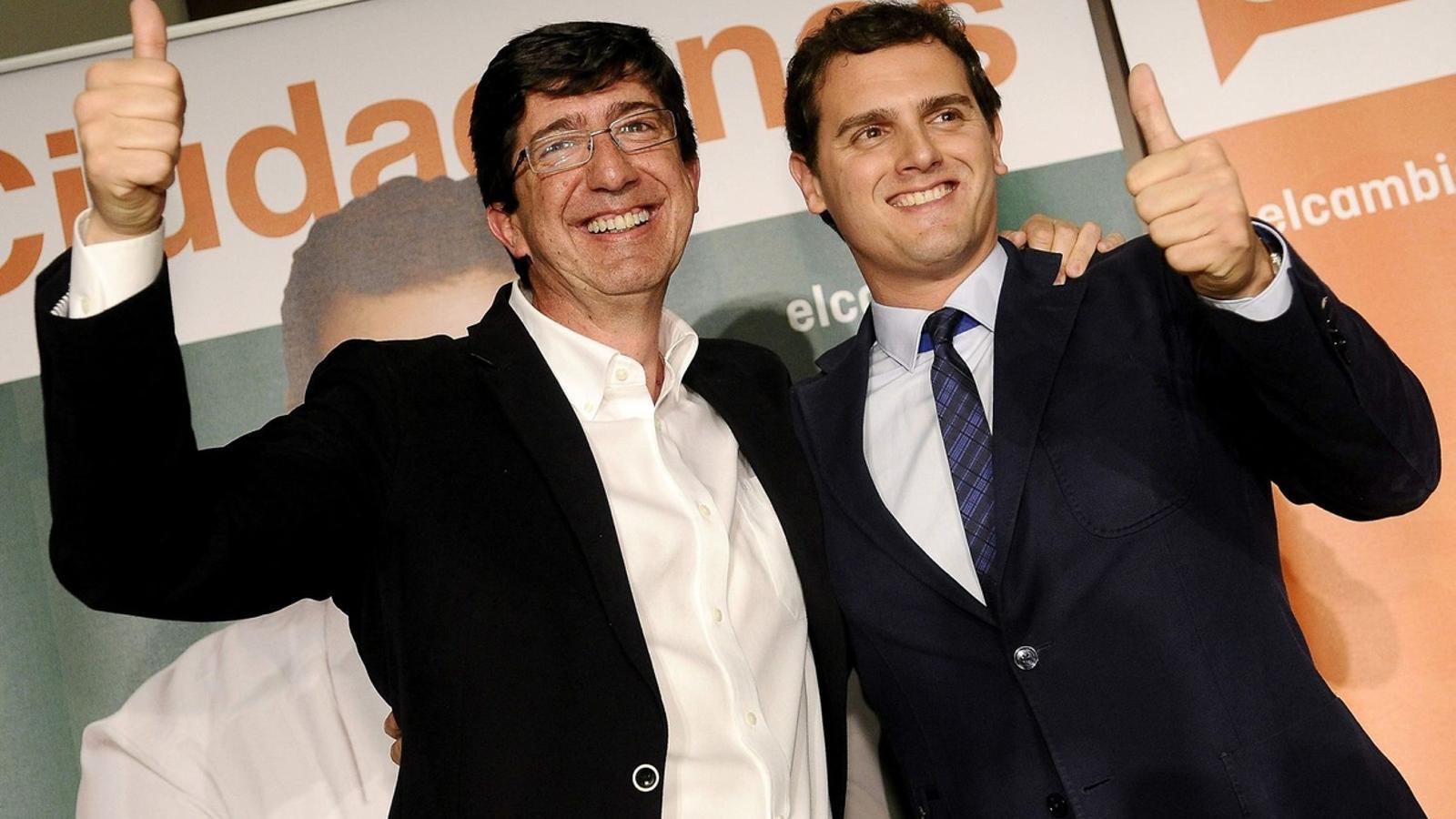 Torra es querella contra el líder de Ciutadans a Andalusia per injúries i calúmnies