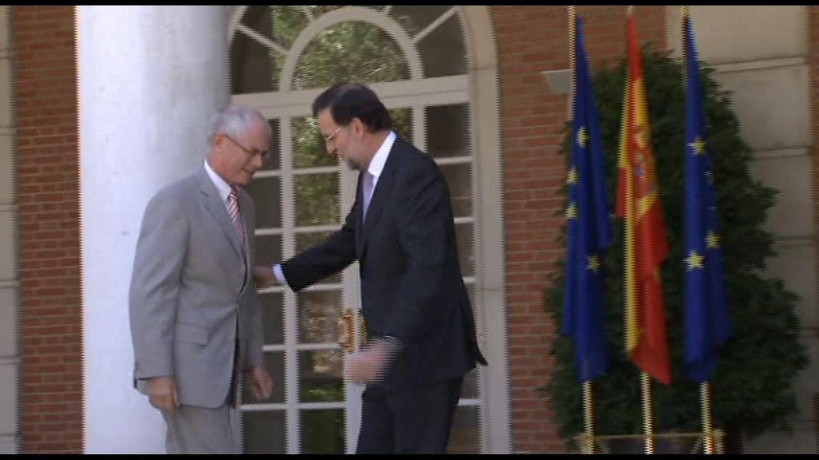 Rajoy nega que Espanya estigui negociant un rescat