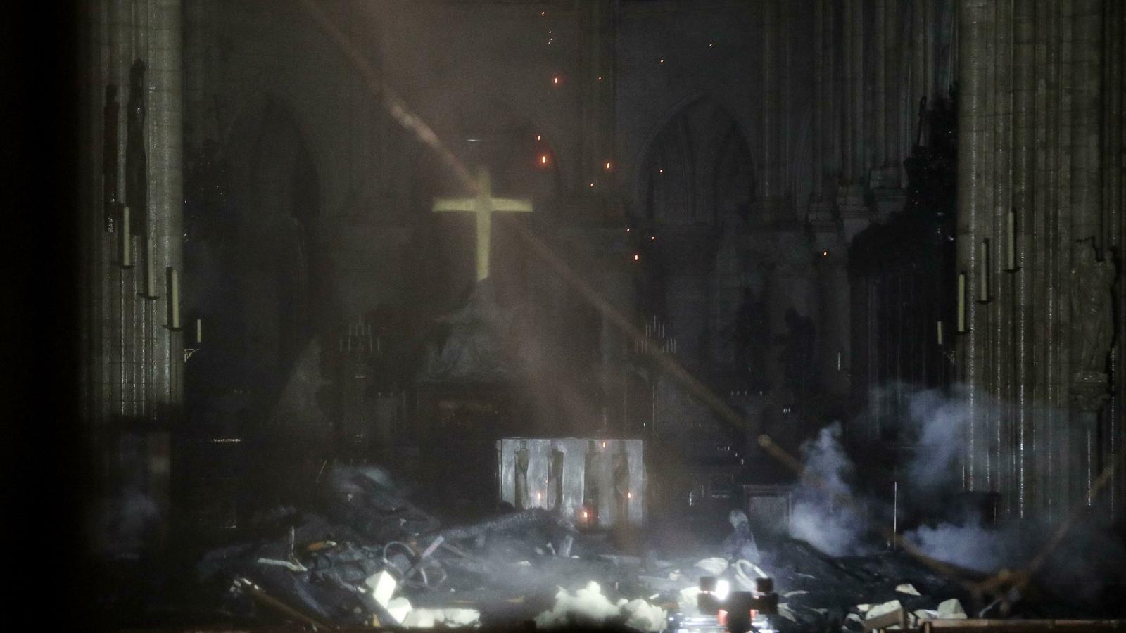 Tot el que has de saber sobre el devastador incendi a Notre-Dame