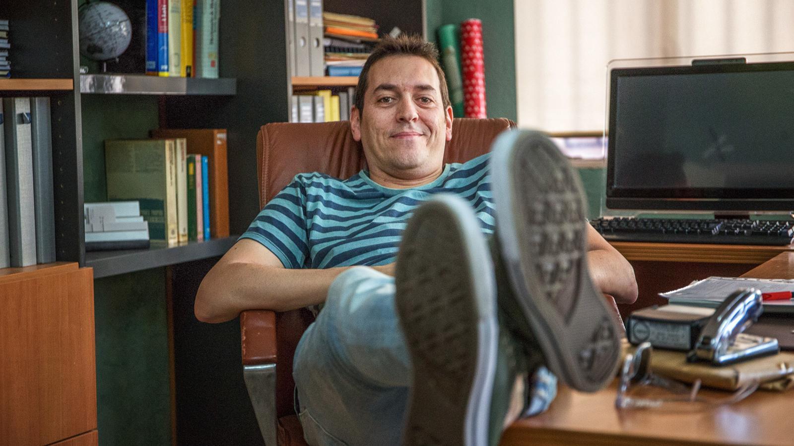 Héctor Lozano és el creador de 'Merlí'