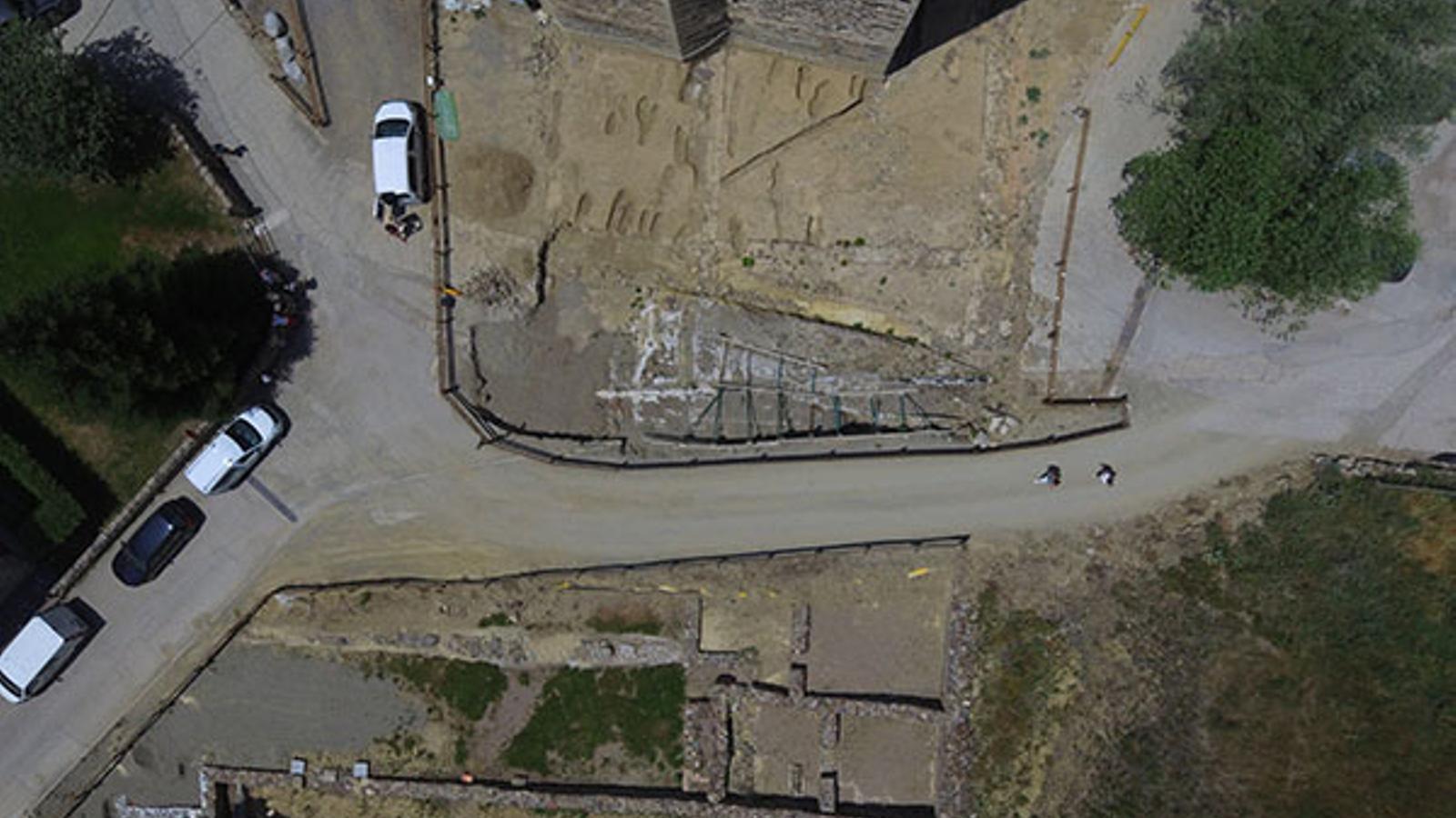 El fòrum romà de Llívia. / MUSEU DE LLÍVIA