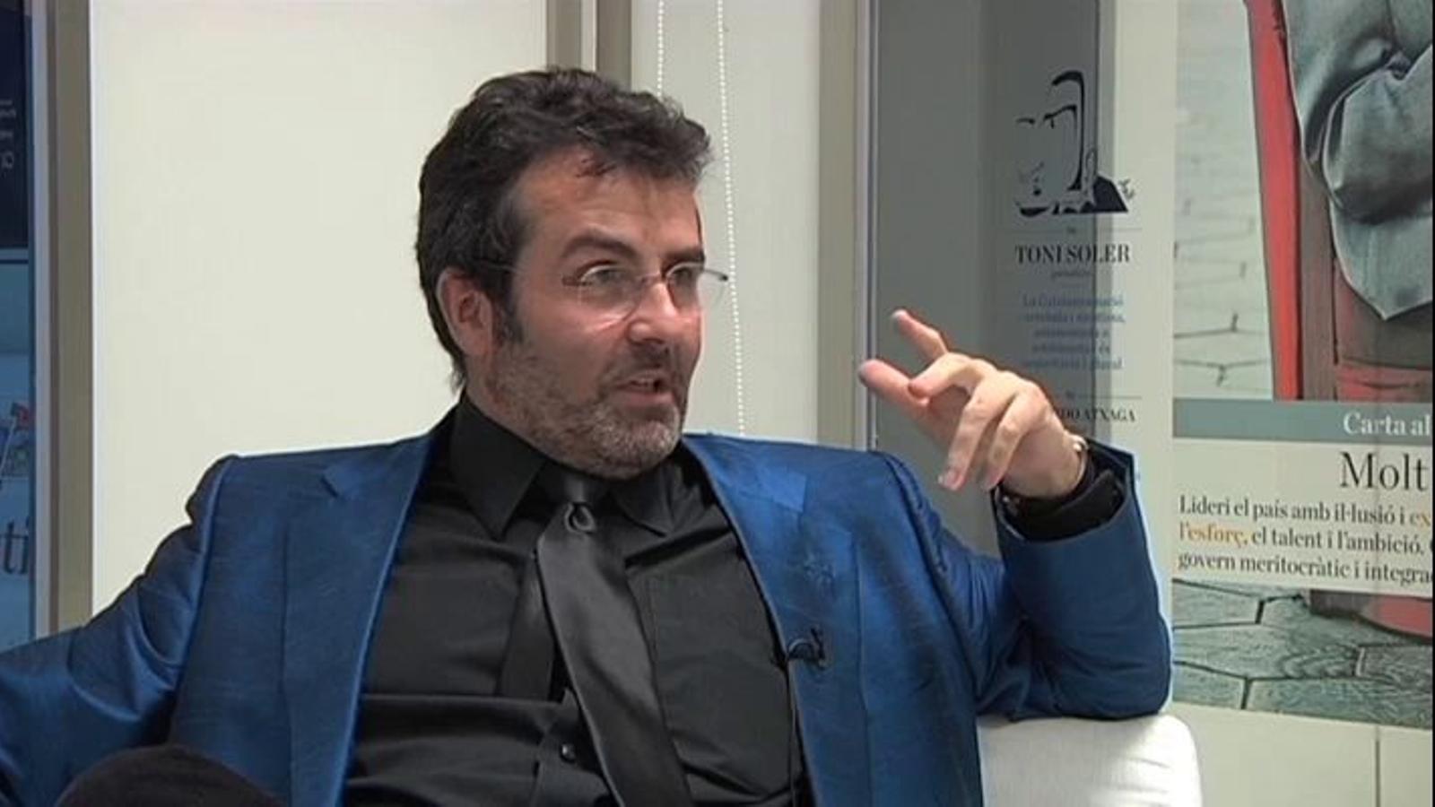 Xavier Sala i Martín: Espanya és com un grup de trilers: quan aixeques el gobelet, sempre hi ha el 8% de dèficit