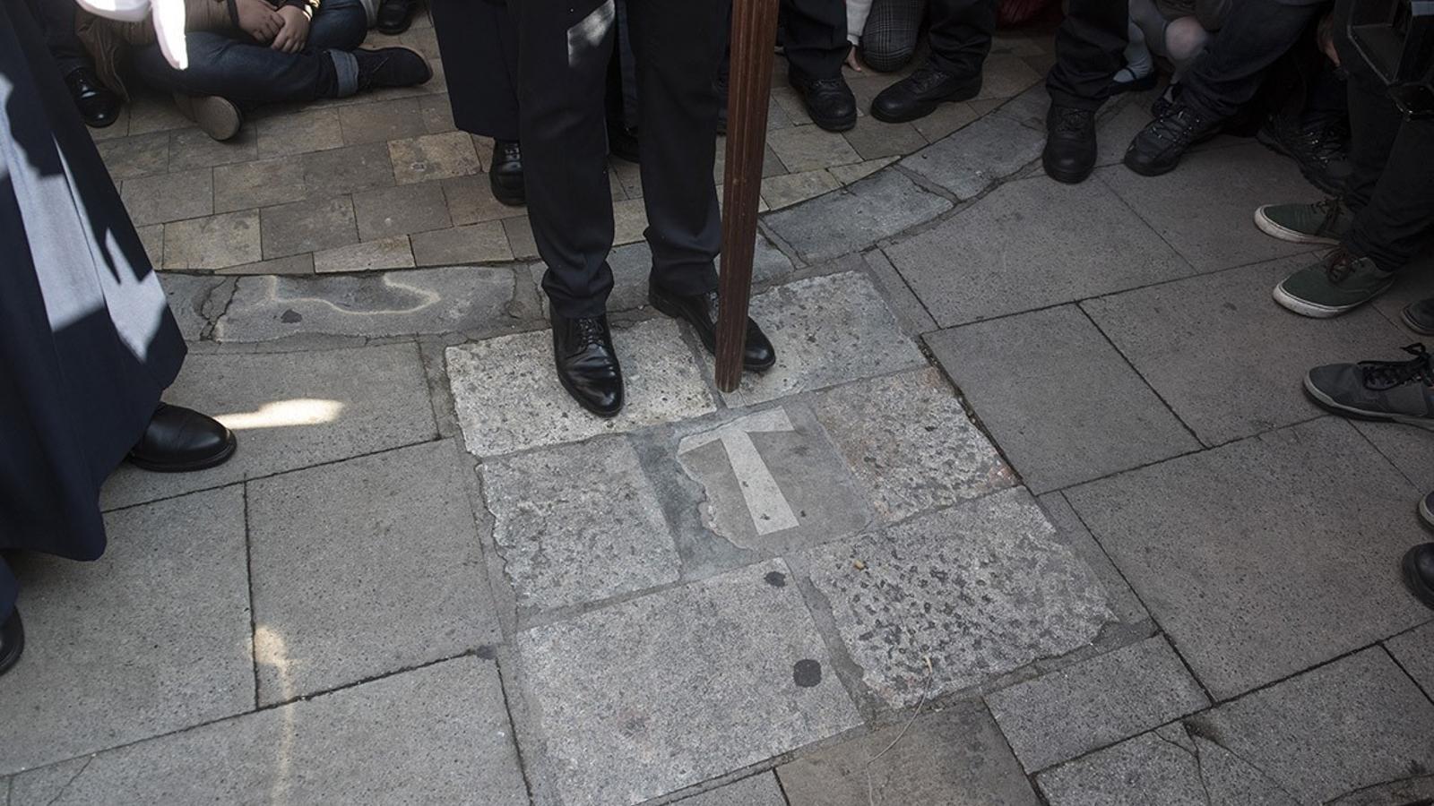 Els Tres Tocs és el moment més esperat a Ciutadella després d'una processó emocionant.