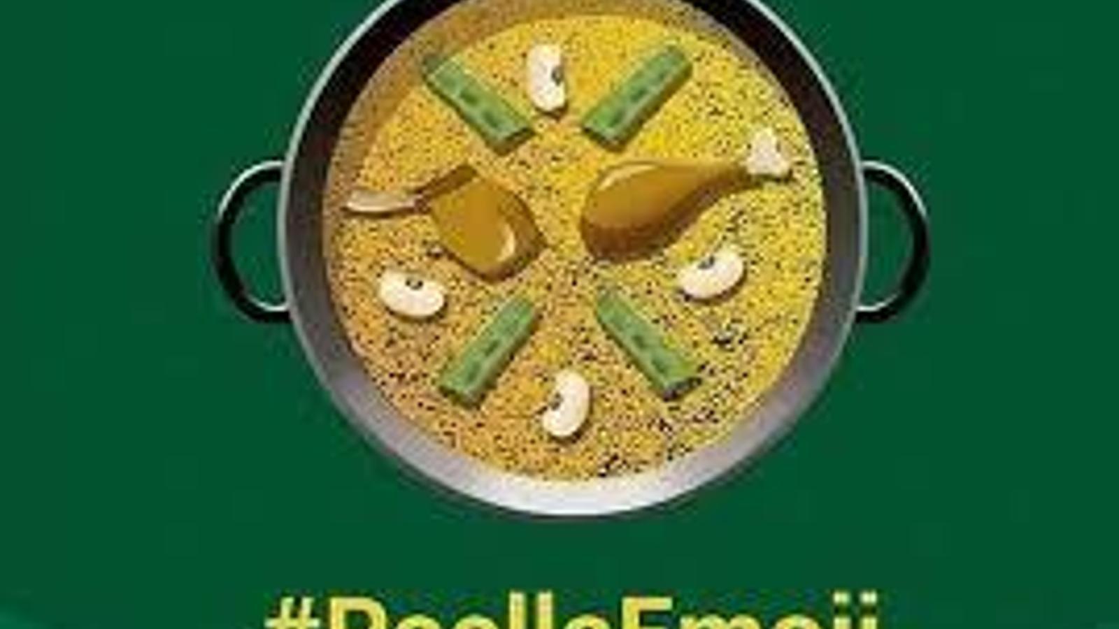 La paella valenciana tindrà icona de WhatsApp