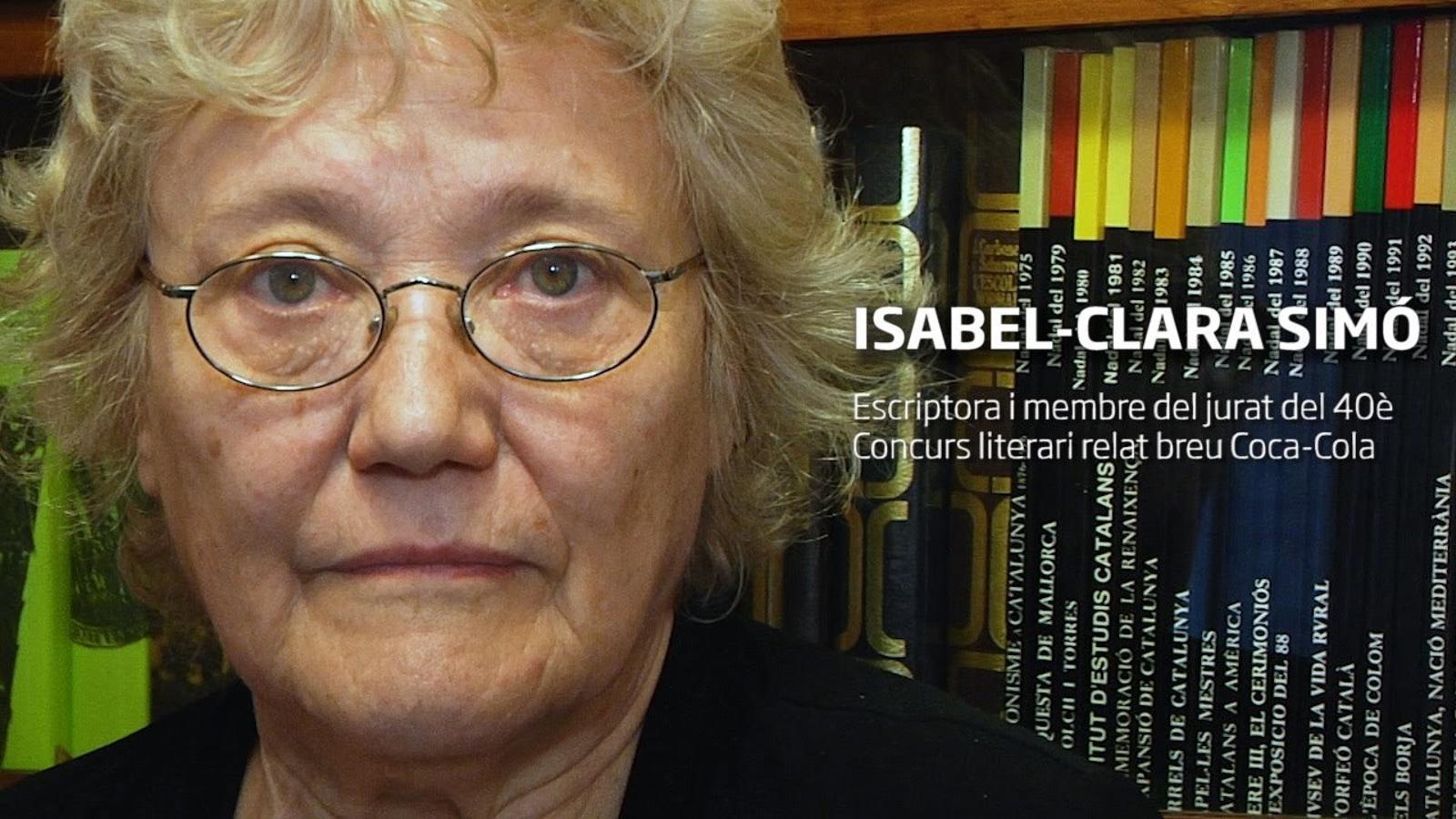 Les recomanacions de l'escriptora Isabel-Clara Simó