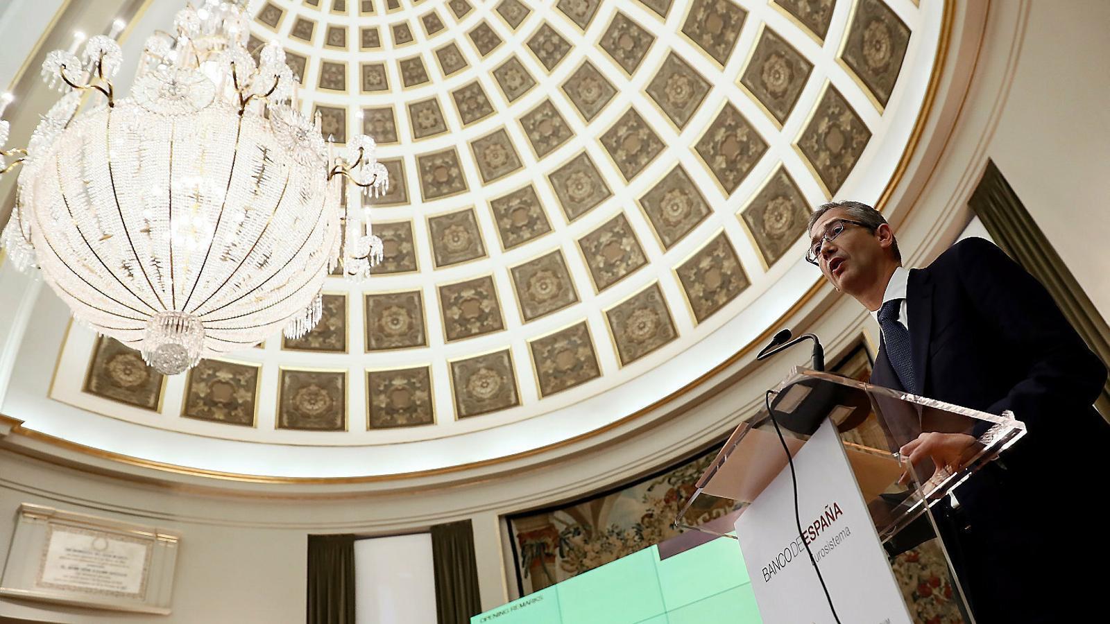 El Banc d'Espanya preveu una crisi severa i demana una reforma fiscal