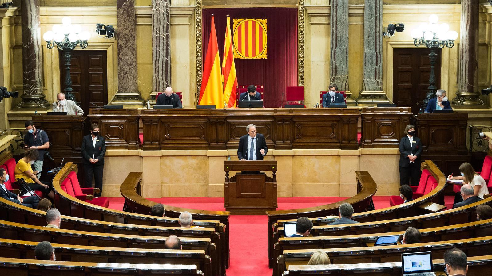 EN DIRECTE | El debat de política general al Parlament després de la vista de Torra al Suprem