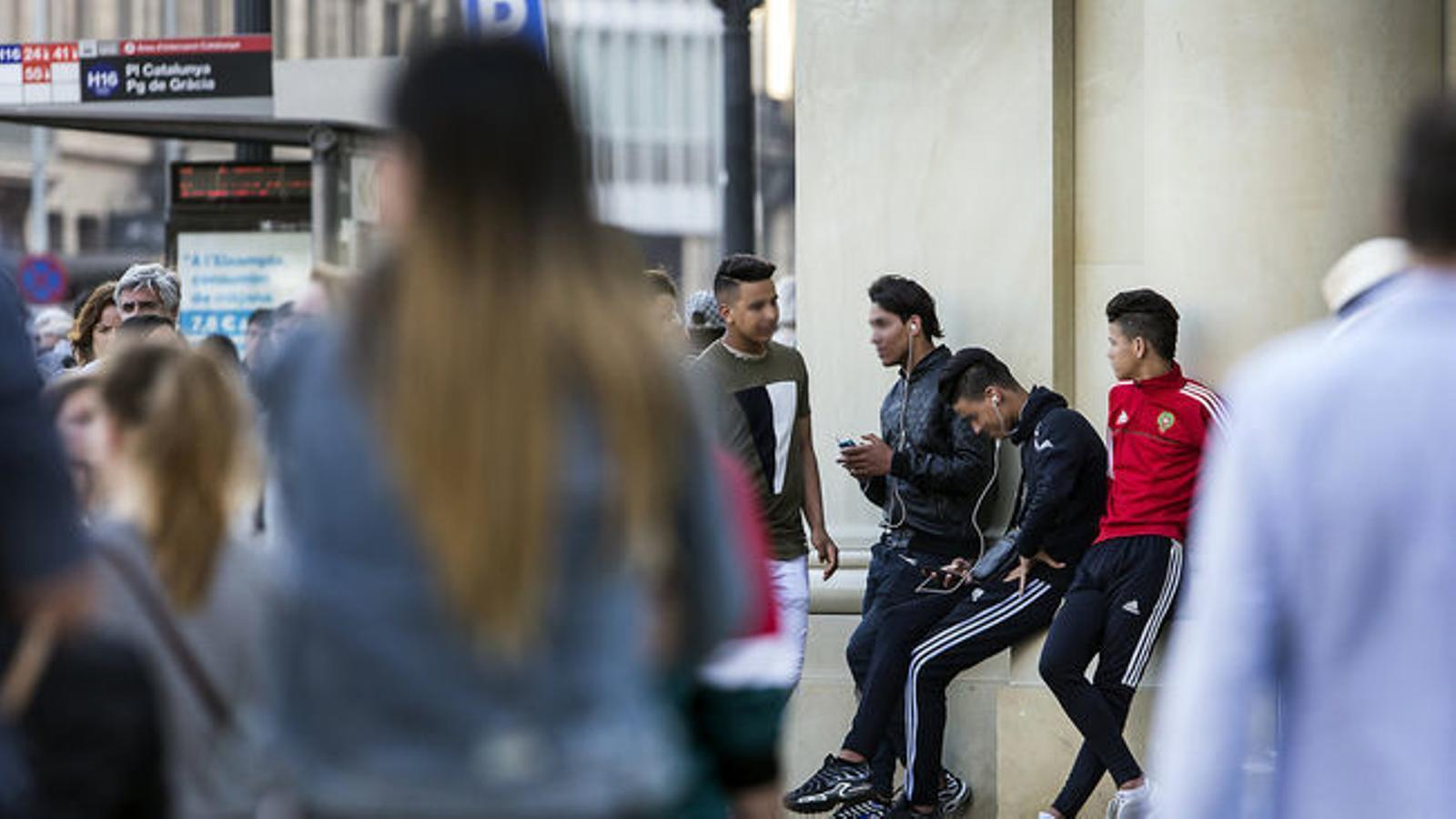 Menors estrangers no acompanyats, els anomenats MENA