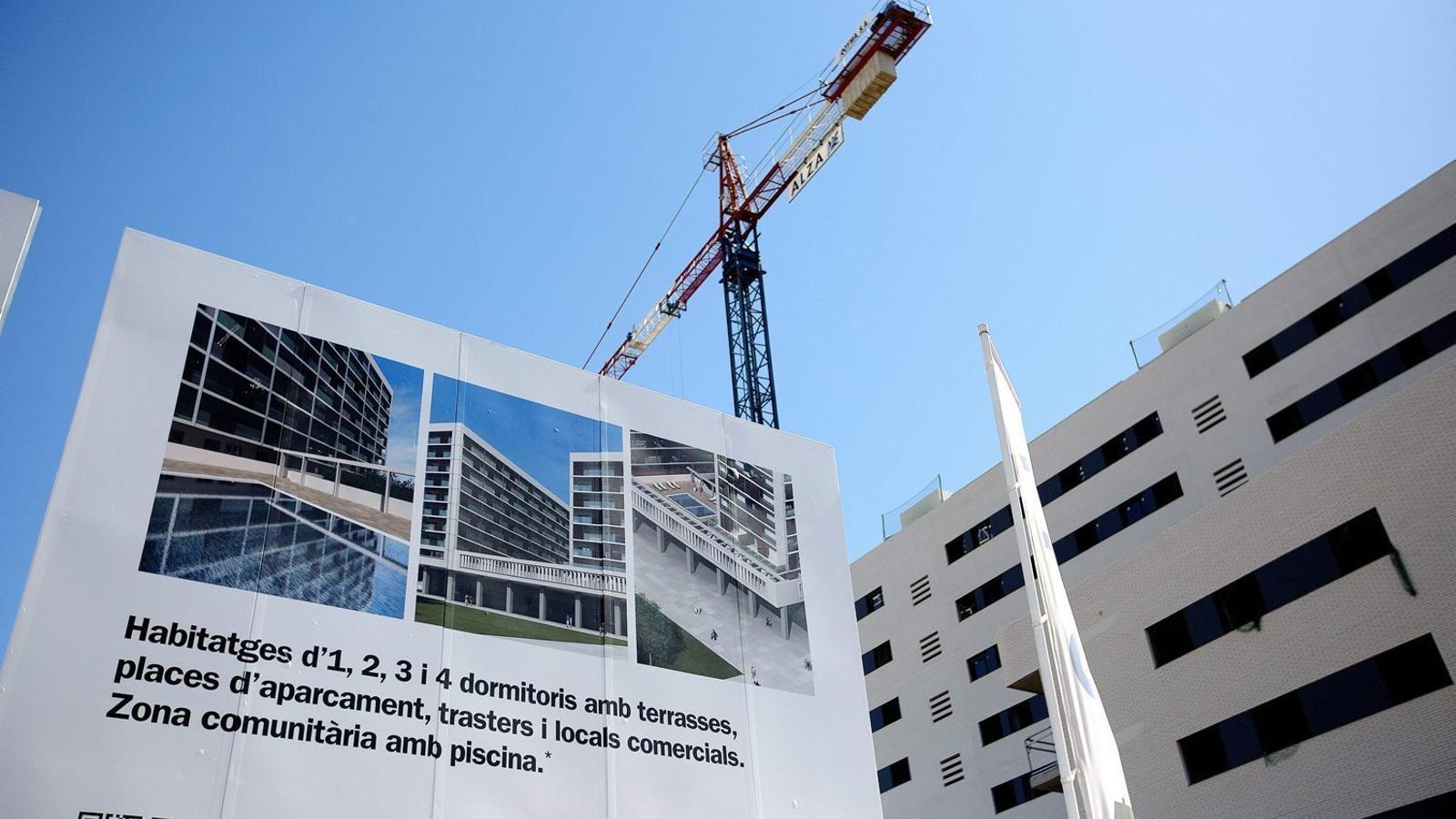 """Marc Pons promet """"recursos propis"""" per construir habitatges assequibles"""