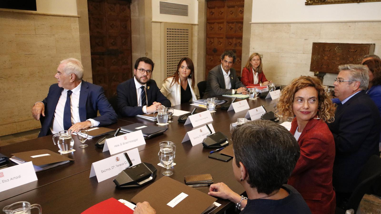 El Govern acusa la Moncloa de no preparar a fons la Bilateral