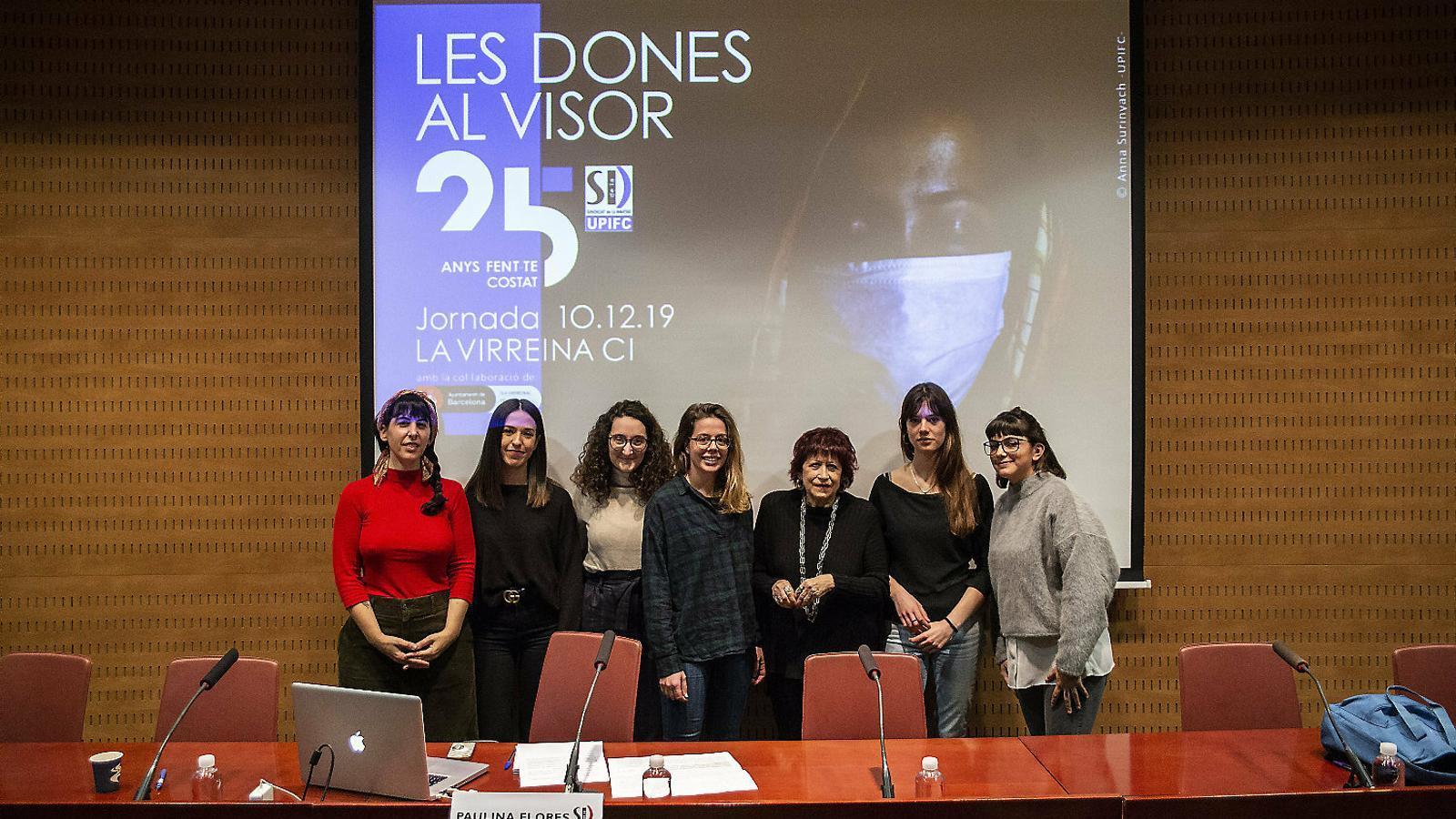 Noelia Pérez, Sara Gordon, Wayra Ficapal, Cèlia Atset, Pilar Aymerich, Sira Esclasans  i Paulina Flores.