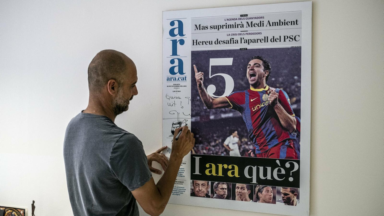 """PEPGUARDIOLA: """"M'ofèn que  els partits independentistes no vagin junts"""""""