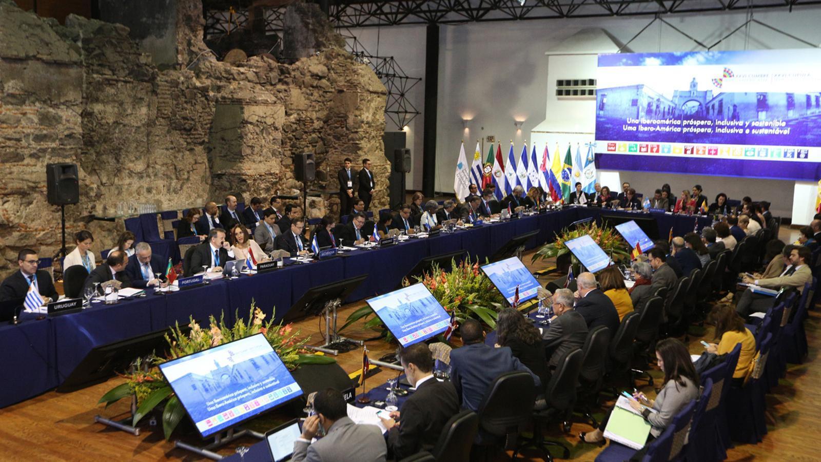La darrera reunió de ministres d'Afers Exteriors. / SFG