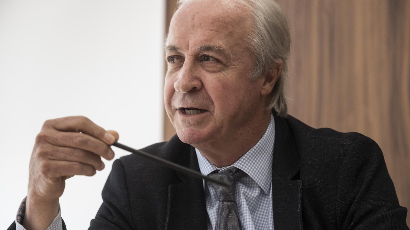 Carles Tusquets, president de Banco Mediolanum i ex candidat a la presidència de la Cambra de Comerç.