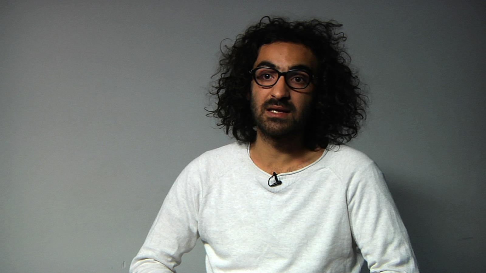Entrevista a Mohamed Bitari, testimoni del setge al camp de refugiats palestins de Iarmuk