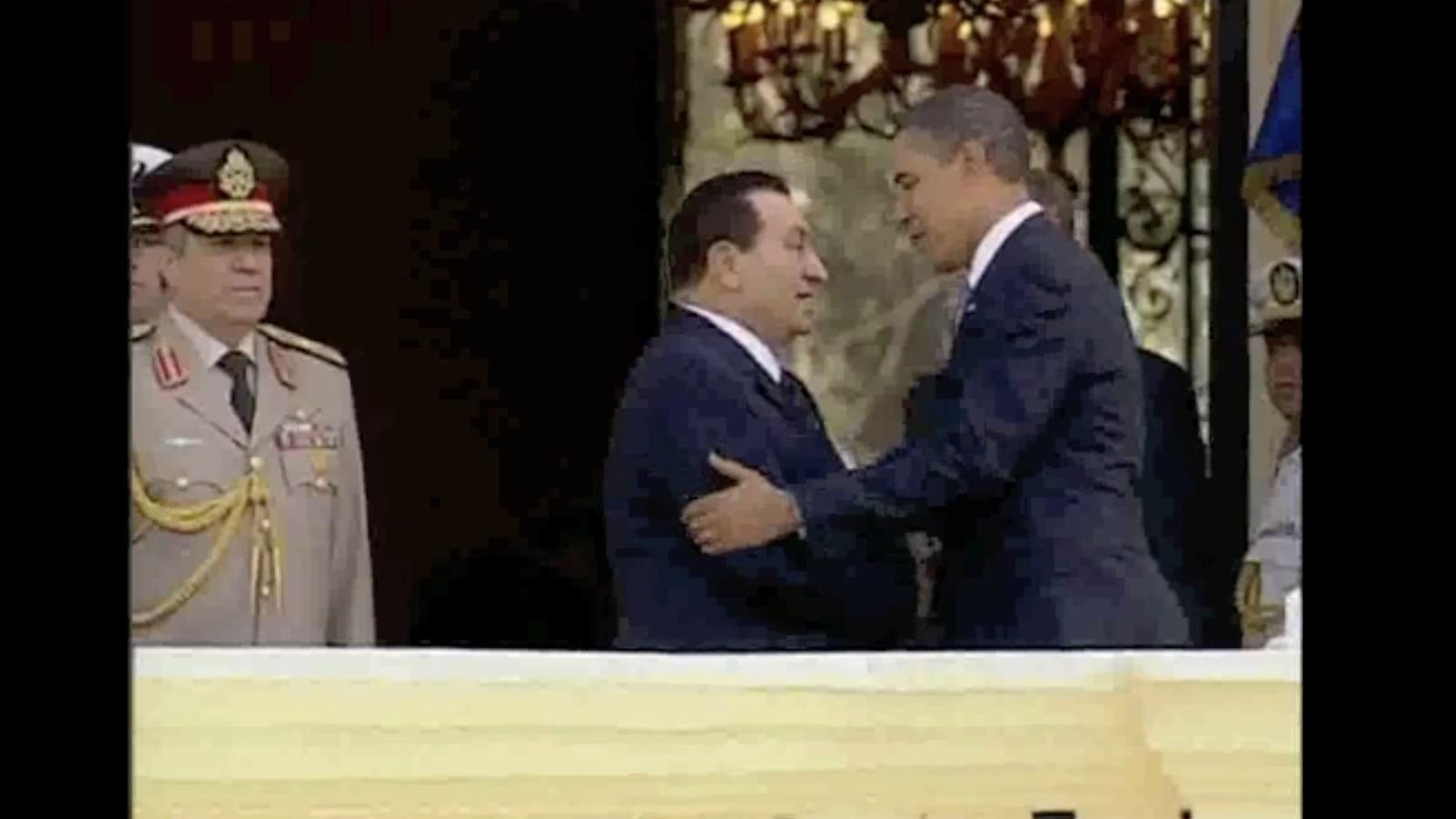 Les amistats internacionals de Mubàrak