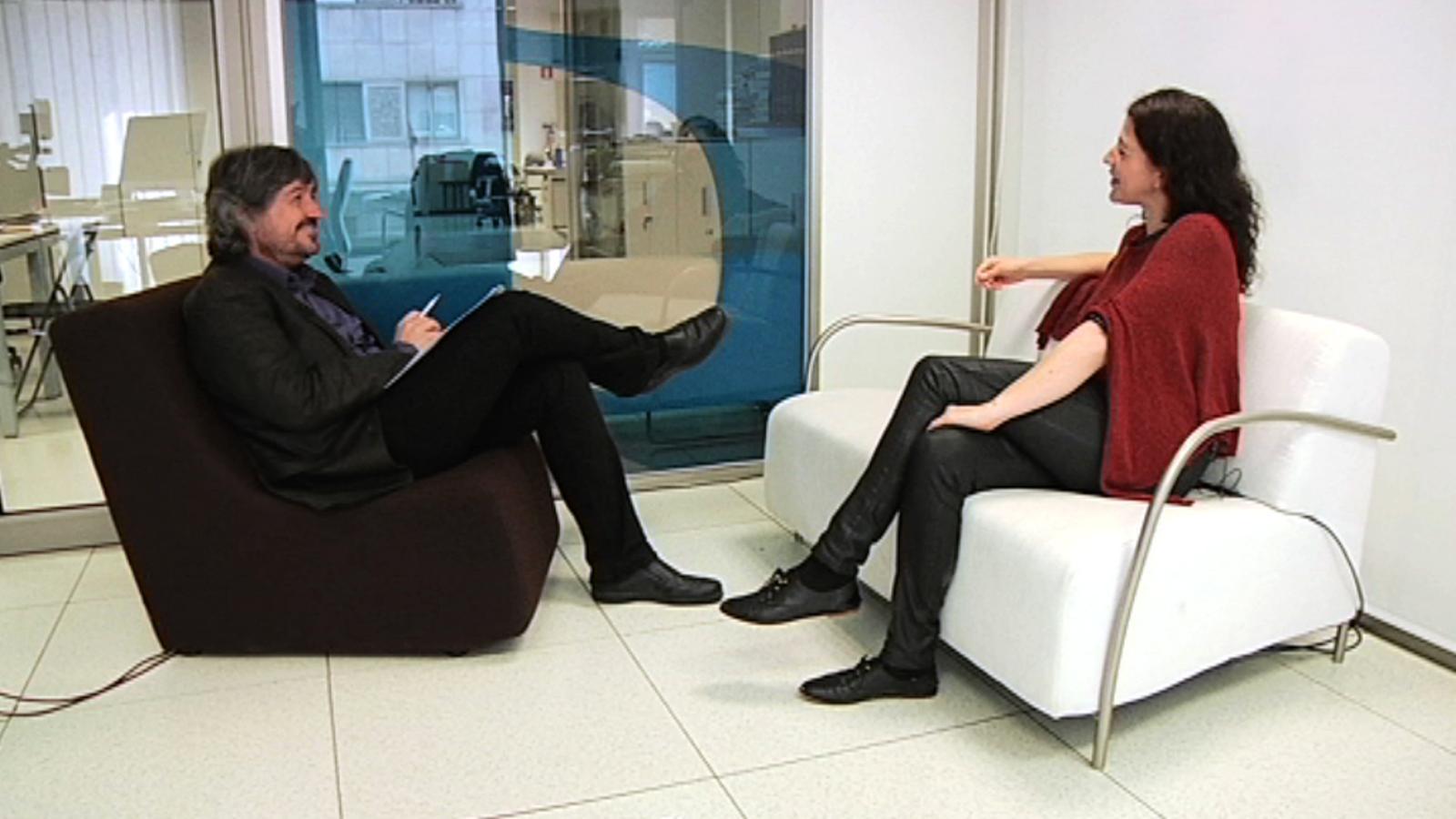Entrevista de Carles Capdevila a Nora Navas