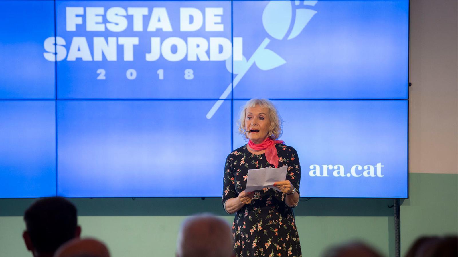 """Zgustova: """"Els periodistes i escriptors hem de vigilar que no ens arrabassin la llibertat d'expressió"""""""