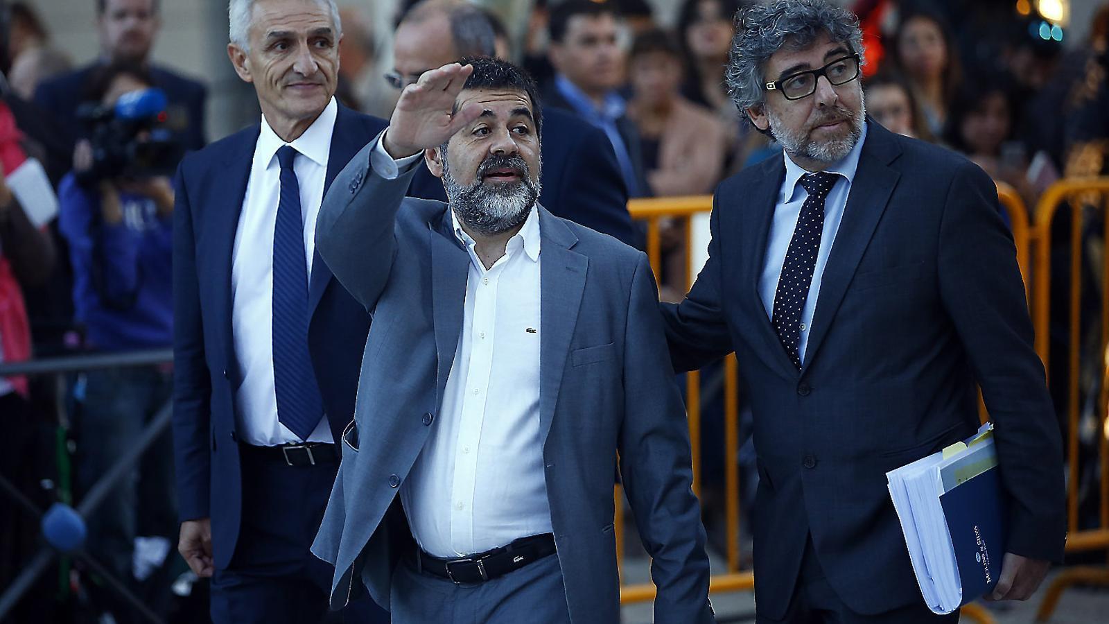 Jordi Sànchez acusa Justícia de no deixar-lo sortir a treballar a la Crida