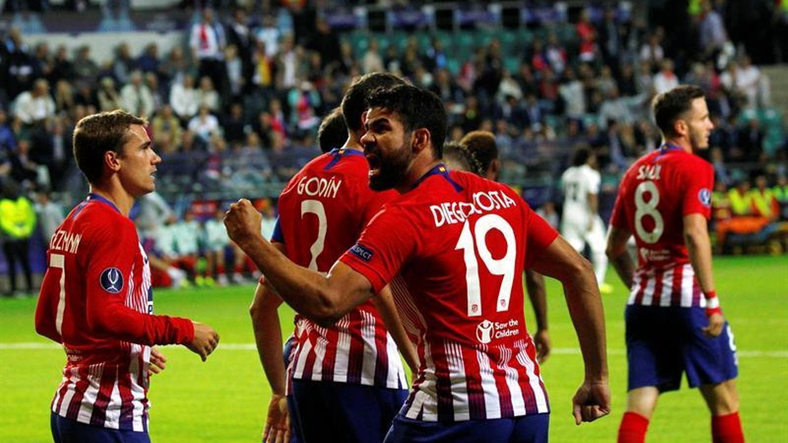 L'Atlètic goleja el Madrid de Lopetegui a la Supercopa d'Europa (4-2)