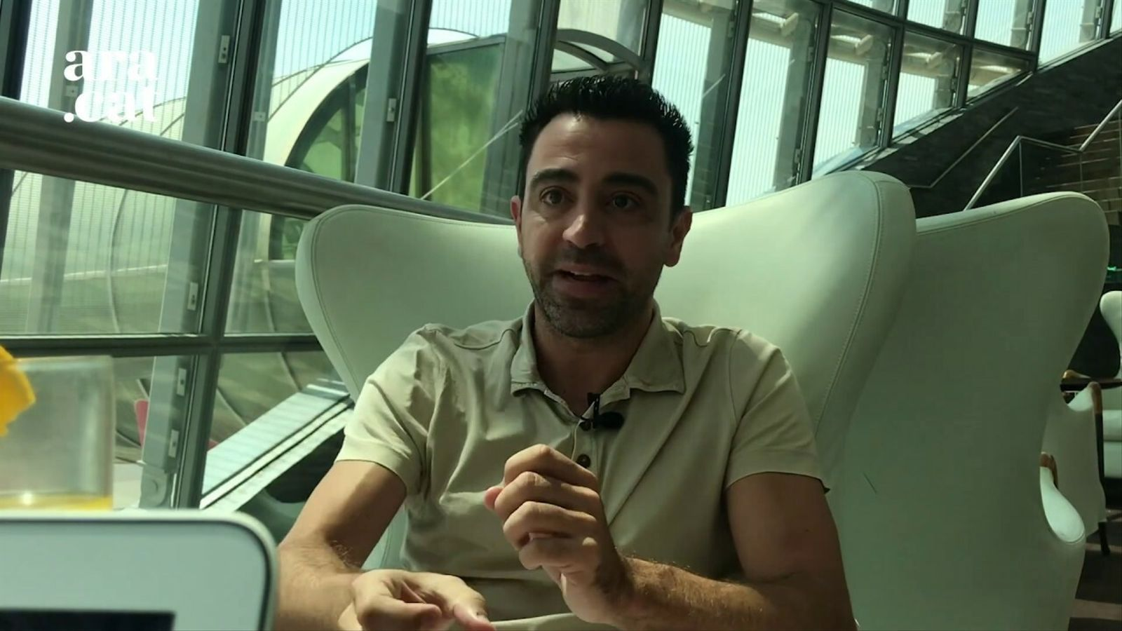 Entrevista a Xavi Hernández