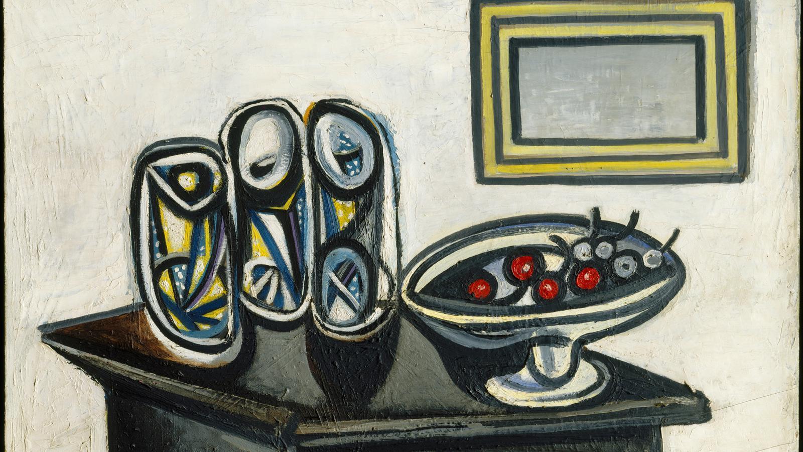A la taula  Amb Picasso