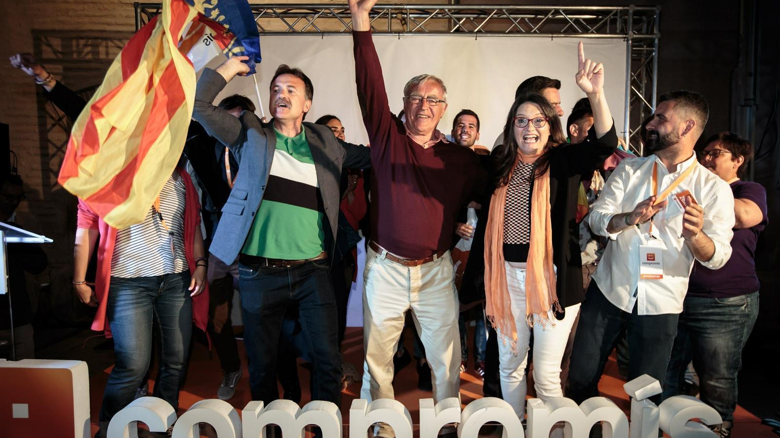 L'esquerra revalida la majoria a València i conserva Castelló, però perd Alacant