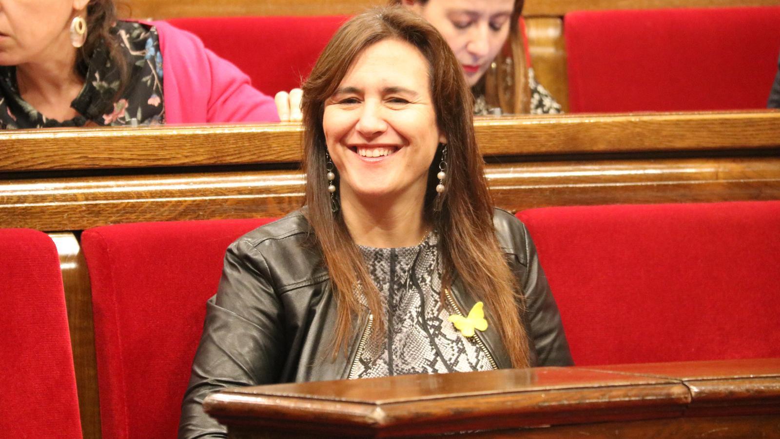 """Laura Borràs: """"No hi ha hagut cap irregularitat"""""""