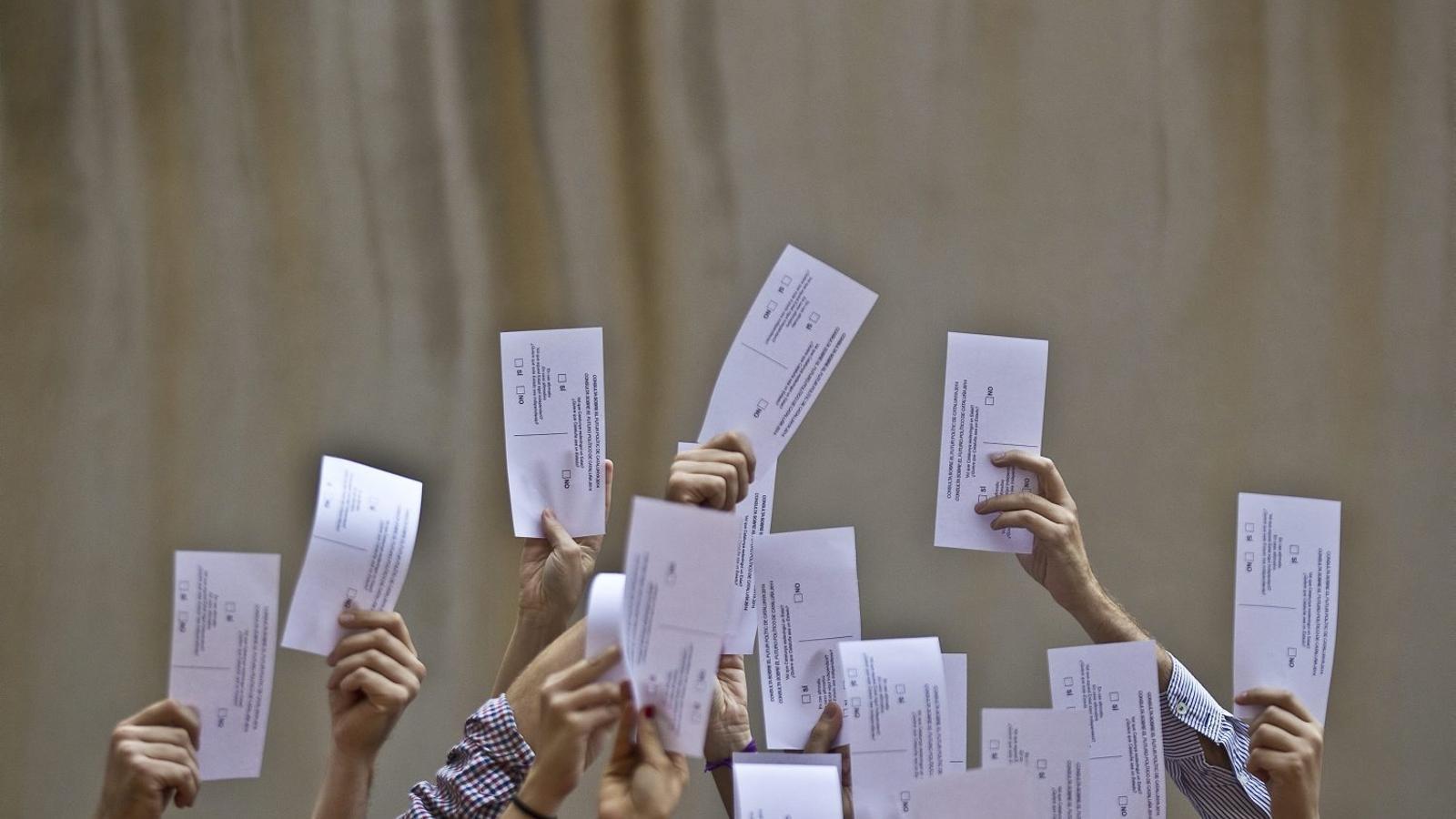 El Govern ha fixat el referèndum per a la tardor  del 2017.