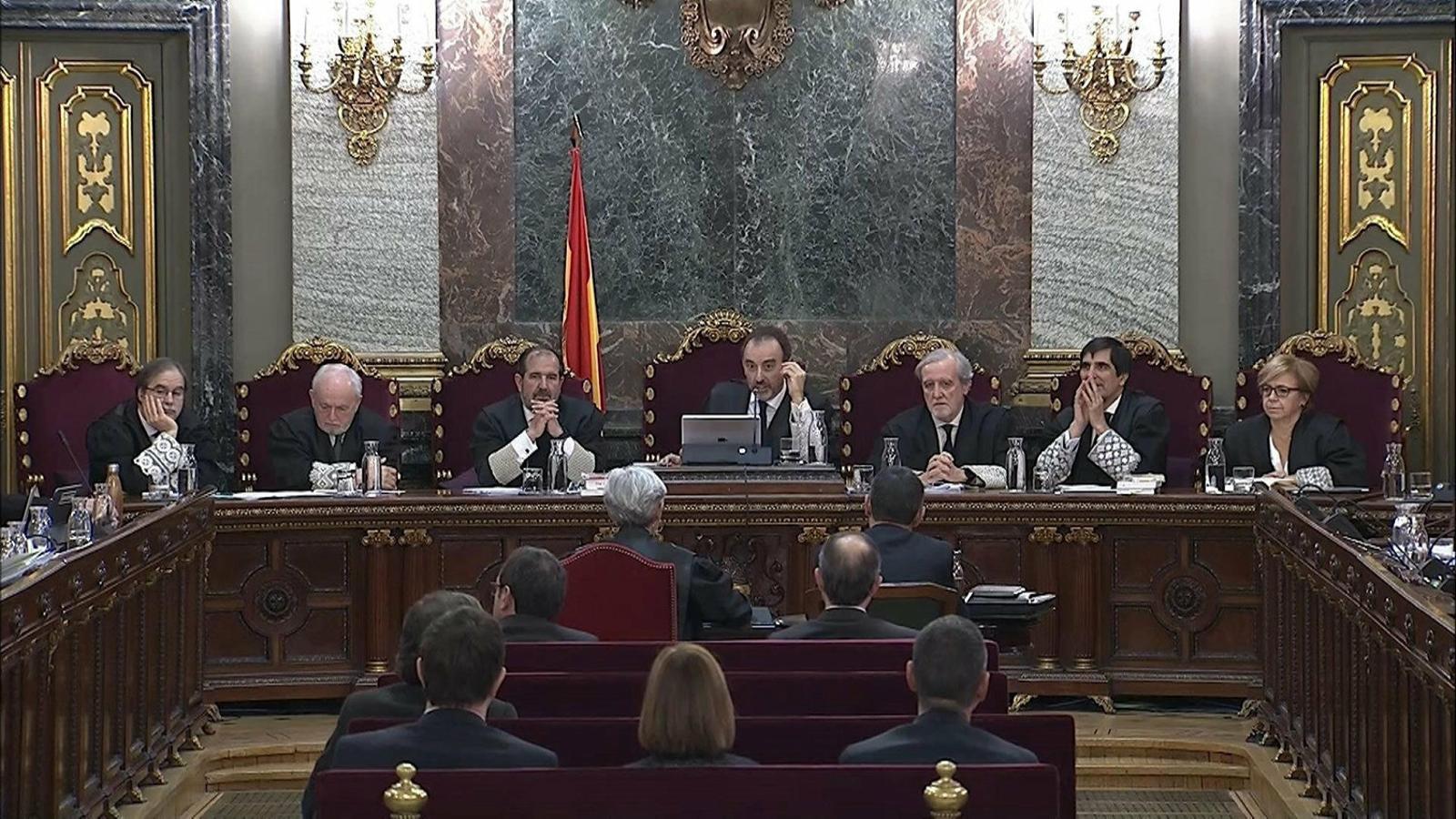 """Marchena té """"avançada"""" la sentència i vol notificar-la abans del 16 d'octubre"""