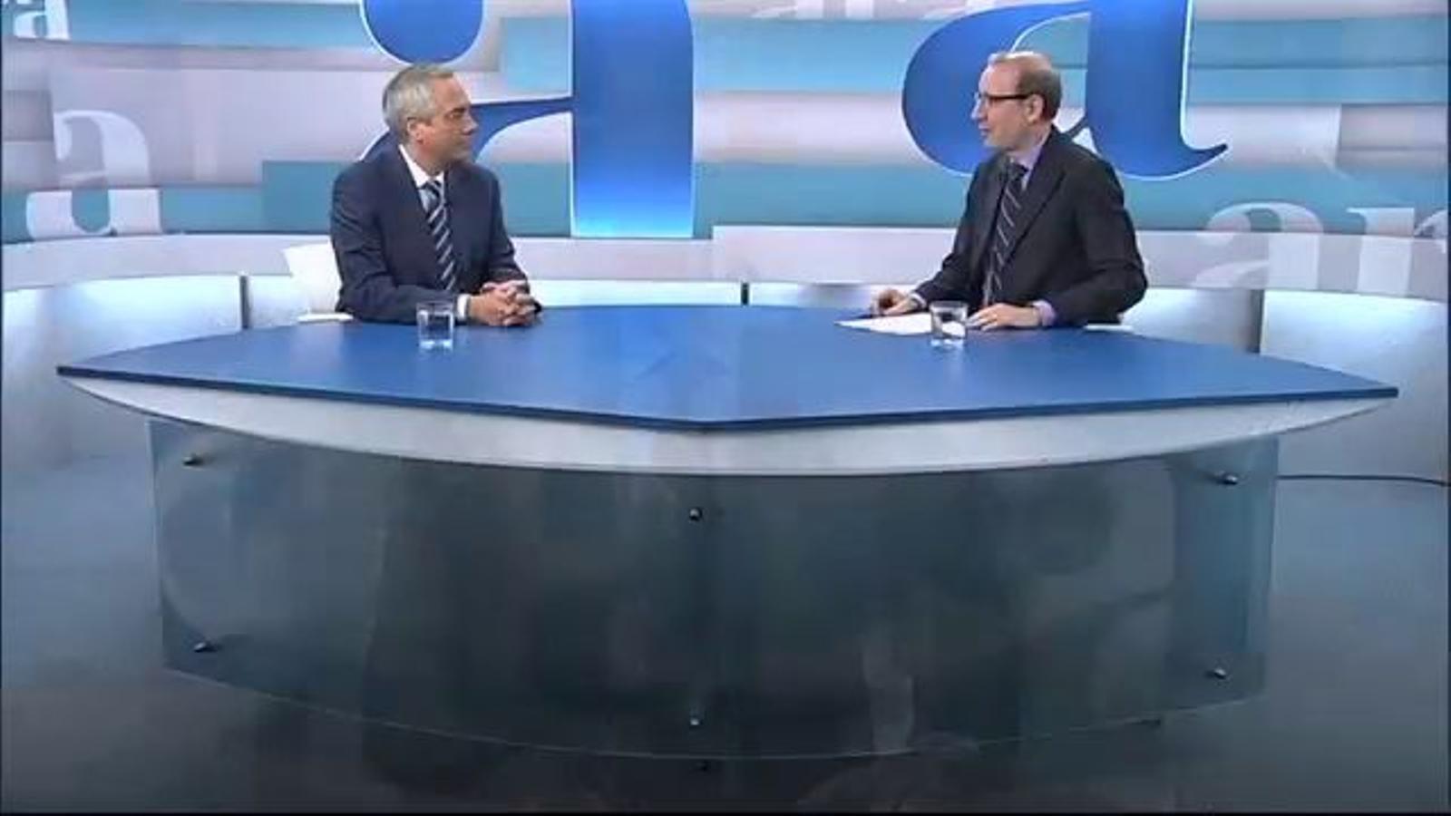 Entrevista d'Antoni Bassas a Pere Navarro