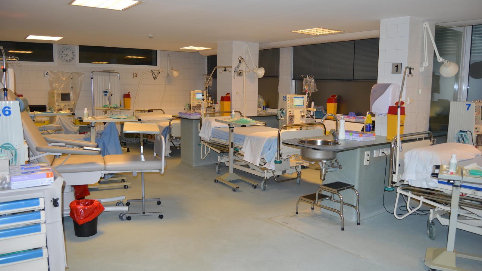 La unitat d'hemodiàlisi. / SAAS